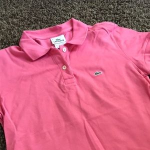 Lacoste Polo 💗Pink💗